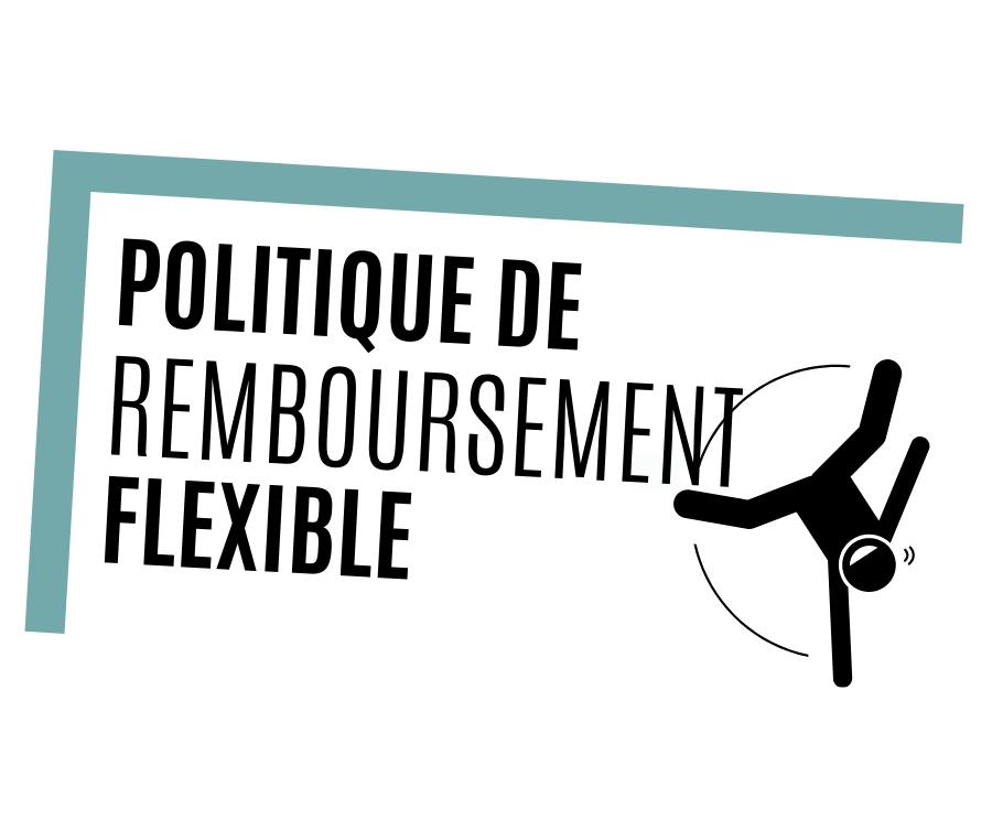 Politique de remboursement flexible
