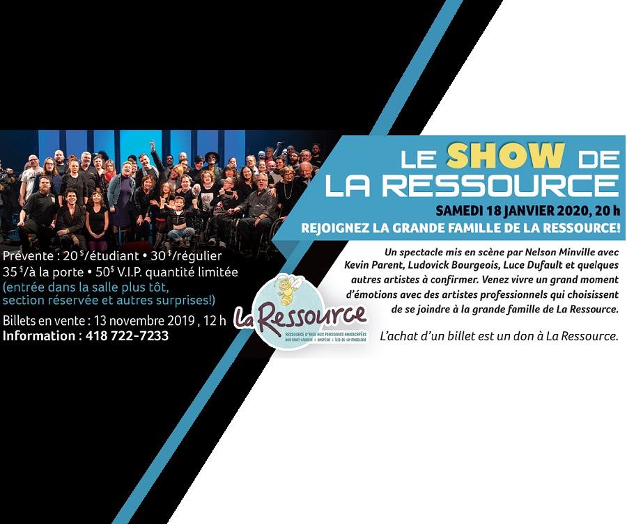 Le show de la Ressource
