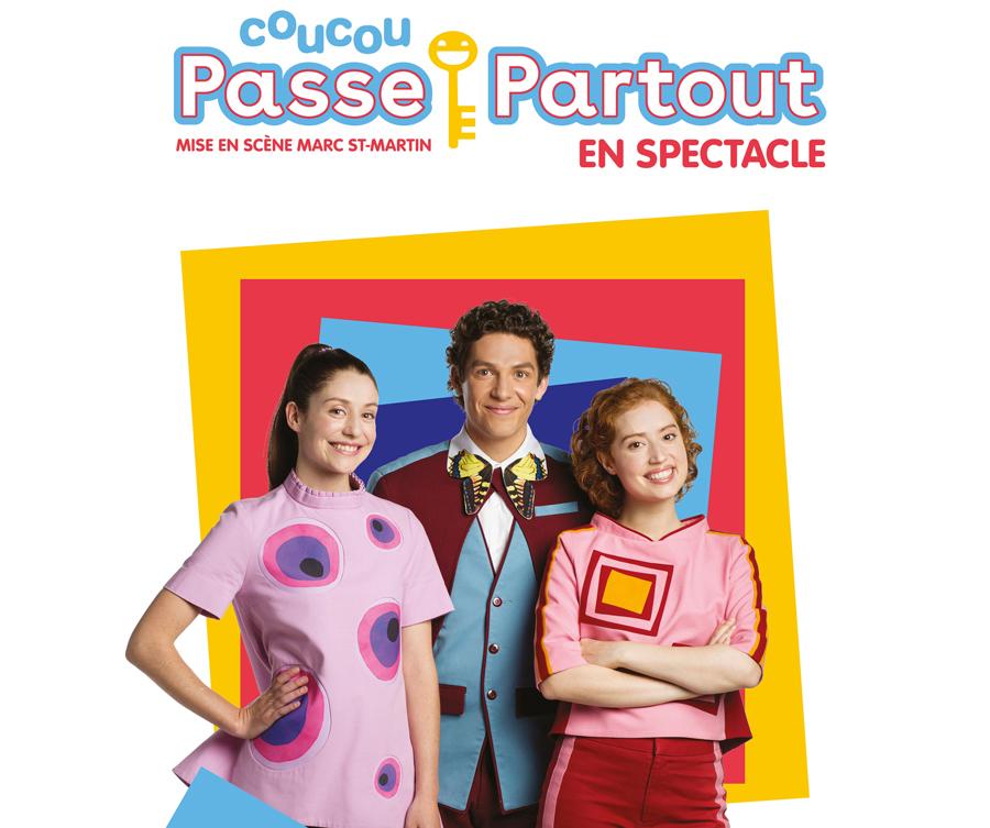 COUCOU PASSE-PARTOUT, LE SPECTACLE