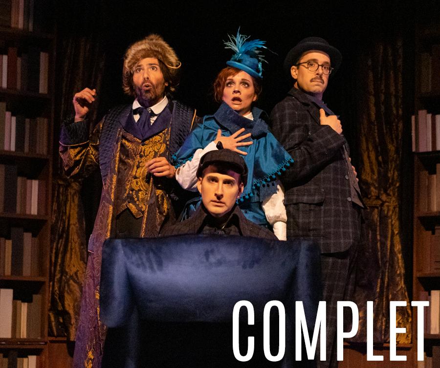 Sherlock Holmes et le signe des Quatre - Théâtre Advienne que pourra